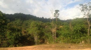 Large Ocean View Mountain Ridge Land Parcel Above Playa Dominical