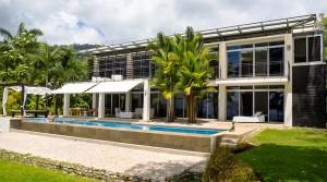 Luxury Ocean View Home In Uvita Overlooking Marino Ballena Park