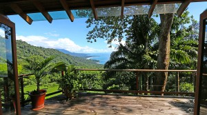 Ocean View Home with Great Location in Escaleras Dominical