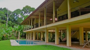 Uvita Vacation Home Plus Guest House With Ocean And Waterfall Views