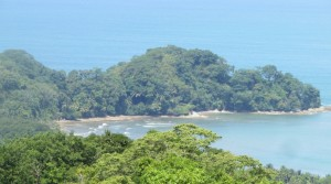 Ocean View Land Parcel Close To The Beach Above Domicalito Bay