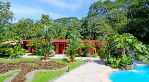 Hotel In Dominical With Waterfall And Walking Distance To The Beach