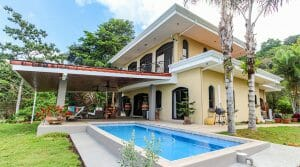 Private Ocean View Luxury Home on 5 Acres Above Matapalo Beach