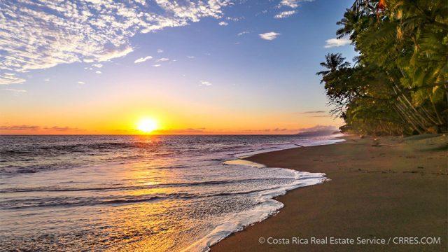 Sunset On The Beach Costa Rica