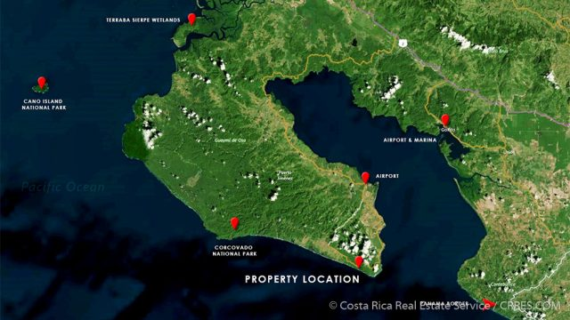 Prime Location Near Cabo Matapalo