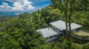 Whale's Tail Ocean View Home with a Private Jungle Setting in Uvita