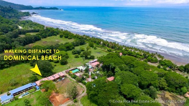 Walk to the Beach Townhouse in Dominical