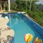 Large Infinity Swimming Pool
