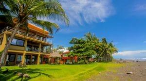 Oceanfront Home on World Class Beach Break at Playa Hermosa