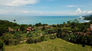 Panoramic Ocean View Lot in Secure Community Near Dominical