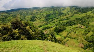95 Acre Farm Land with Waterfall and Chirripo Mountain Views