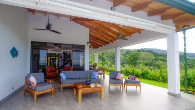 Covered Outdoor Lounge
