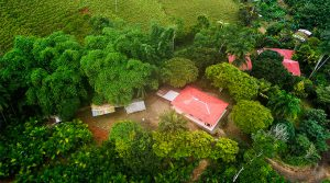 Starter Home and Building Site with Valley Views Above Dominical