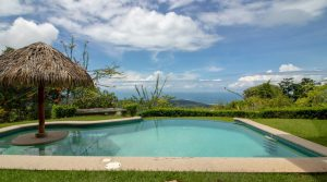 Finely Crafted Home With Guest Cabin Above Uvita Whale Tale