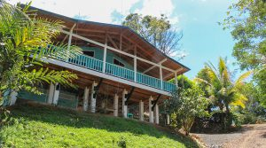 Ocean View Home in Escaleras Above Playa Dominical