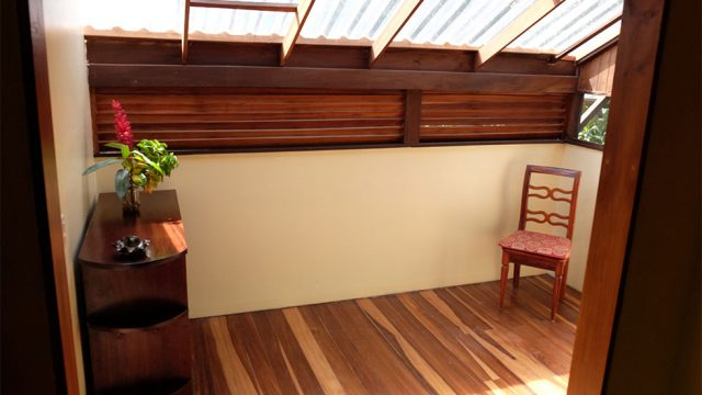 Beautiful Wood Balcony
