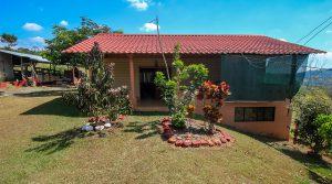 Mountain Home on 13 Acres with Working Farm close to San Isidro