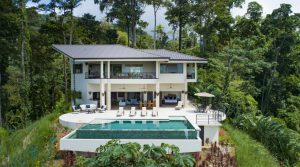 New Turnkey Luxury Home with Gorgeous Ocean Views Near Uvita