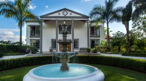 Grand Villa with Beautiful Gardens and Guest House in Ojochal