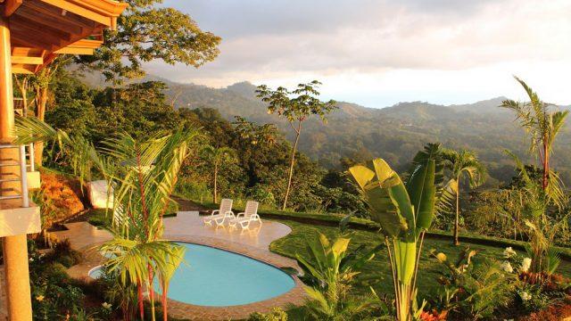 Tropical Resort Setting