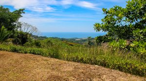 At the End of the Road, Private Ocean View Home Site in Gated Community