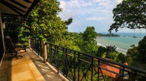 Whitewater Ocean View Villa in Canto del Mar Above Dominicalito Bay