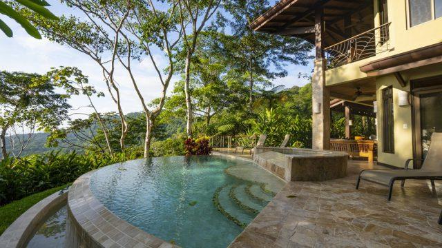 Tropical Pool Area