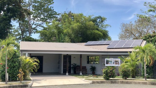 New Solar Home in Uvita