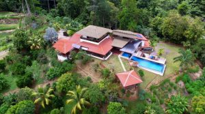 Ocean View Home with Outdoor Entertaining Spaces in Uvita