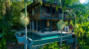 Gorgeous Bali Style Home with Spectacular Ocean Views in Uvita