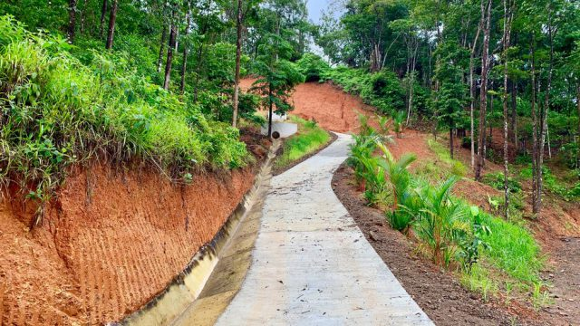 Private Cement Access