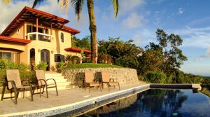 Ocean View Vacation Rental Home with Guest House Above Uvita