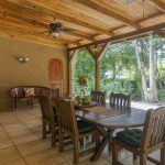 Covered Dining Area
