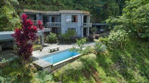 Tinamastes Home with Spectacular Ocean and Waterfall Views