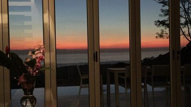 Sunset Ocean Views