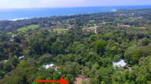 Lot in Uvita with Ocean View, Easy Access, ASADA Water and Great Price