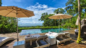 Boutique Hotel in Uvita Nestled in the Rainforest with Beautiful Ocean View
