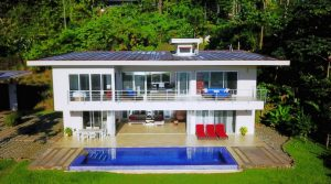 Modern Home in Uvita With Infinity Pool And Whales Tail Ocean View