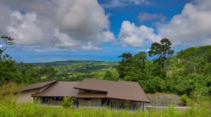 Indoor and Outdoor Living Home in Uvita with Whale Tail Ocean View