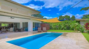 Single Level Contemporary Walk to the Beach Home in Uvita