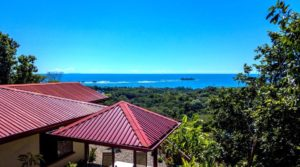 Home in Uvita with Fantastic Ocean View Overlooking Marino Ballena Park