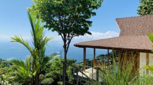 Bali Inspired Ocean View Villa Above Dominical in Escaleras