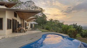 Fabulous Ocean View Home with Guest Villa in Ojochal