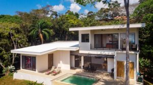 Ocean View Home Near Dominical with Professional Management
