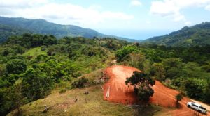 Morete Building Lot with Ocean Views and Farmable Land Above Uvita