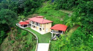 Luxury Home with Ocean View of Playa Ballena in Uvita