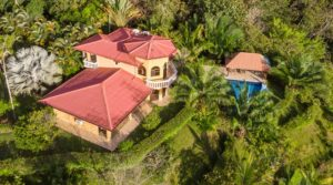 Beautiful Home with Separate Income Producing Guest Suites in Uvita