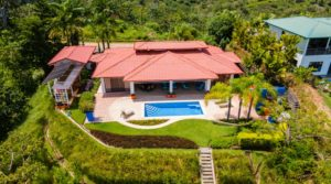 Single Level Mountain View Home Near Ojochal with Tasteful Interior
