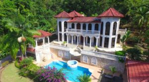 Opulent Mansion on Four Jungle Acres with a Private Waterfall