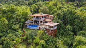 Stunning Ocean View Luxury Home in Escaleras Dominical